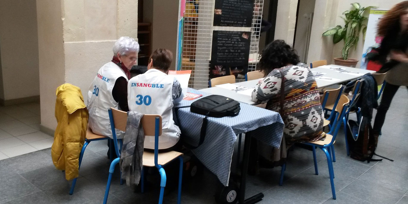l'association ensangble30 en action
